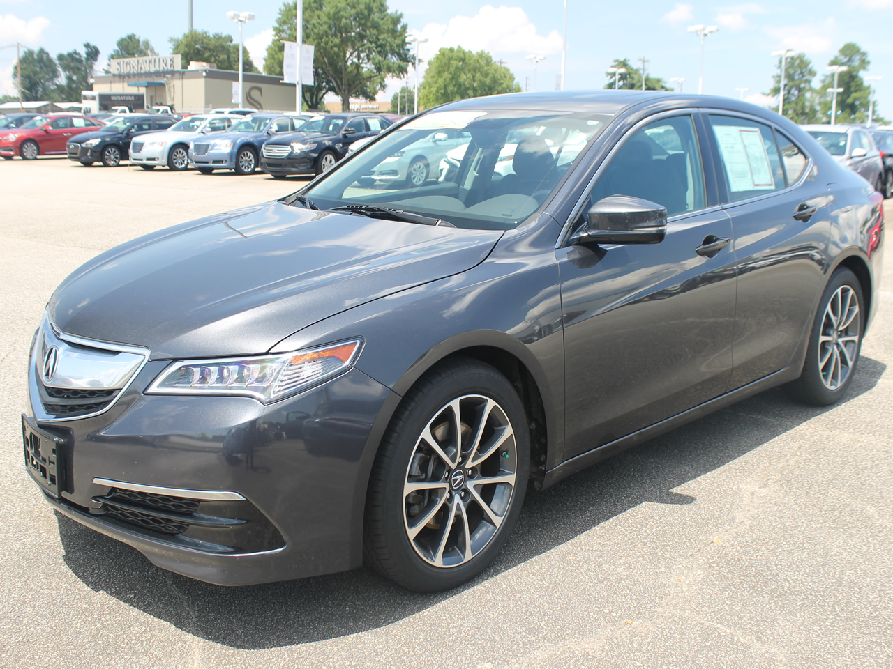 2016 ACURA TLX Technology
