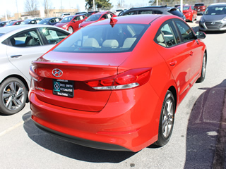 2017 HYUNDAI ELANTRA SE Rear Veiw in Greenville, Greer, Spartanburg, Anderson, Easley, Simpsonville, Greenwood, Newberry SC and Asheville NC. Selling New Hyundai Cars and Used Cars and Trucks