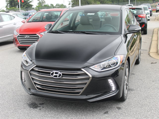 2017 HYUNDAI ELANTRA LIMITED front Veiw in Greenville, Greer, Spartanburg, Anderson, Easley, Simpsonville, Greenwood, Newberry SC and Asheville NC. Selling New Hyundai Cars and Used Cars and Trucks