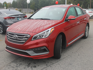 2017 HYUNDAI SONATA SPORT front Veiw in Greenville, Greer, Spartanburg, Anderson, Easley, Simpsonville, Greenwood, Newberry SC and Asheville NC. Selling New Hyundai Cars and Used Cars and Trucks