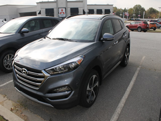 2017 HYUNDAI TUCSON LIMITED front Veiw in Greenville, Greer, Spartanburg, Anderson, Easley, Simpsonville, Greenwood, Newberry SC and Asheville NC. Selling New Hyundai Cars and Used Cars and Trucks