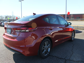 2018 HYUNDAI ELANTRA SEL Rear Veiw in Greenville, Greer, Spartanburg, Anderson, Easley, Simpsonville, Greenwood, Newberry SC and Asheville NC. Selling New Hyundai Cars and Used Cars and Trucks