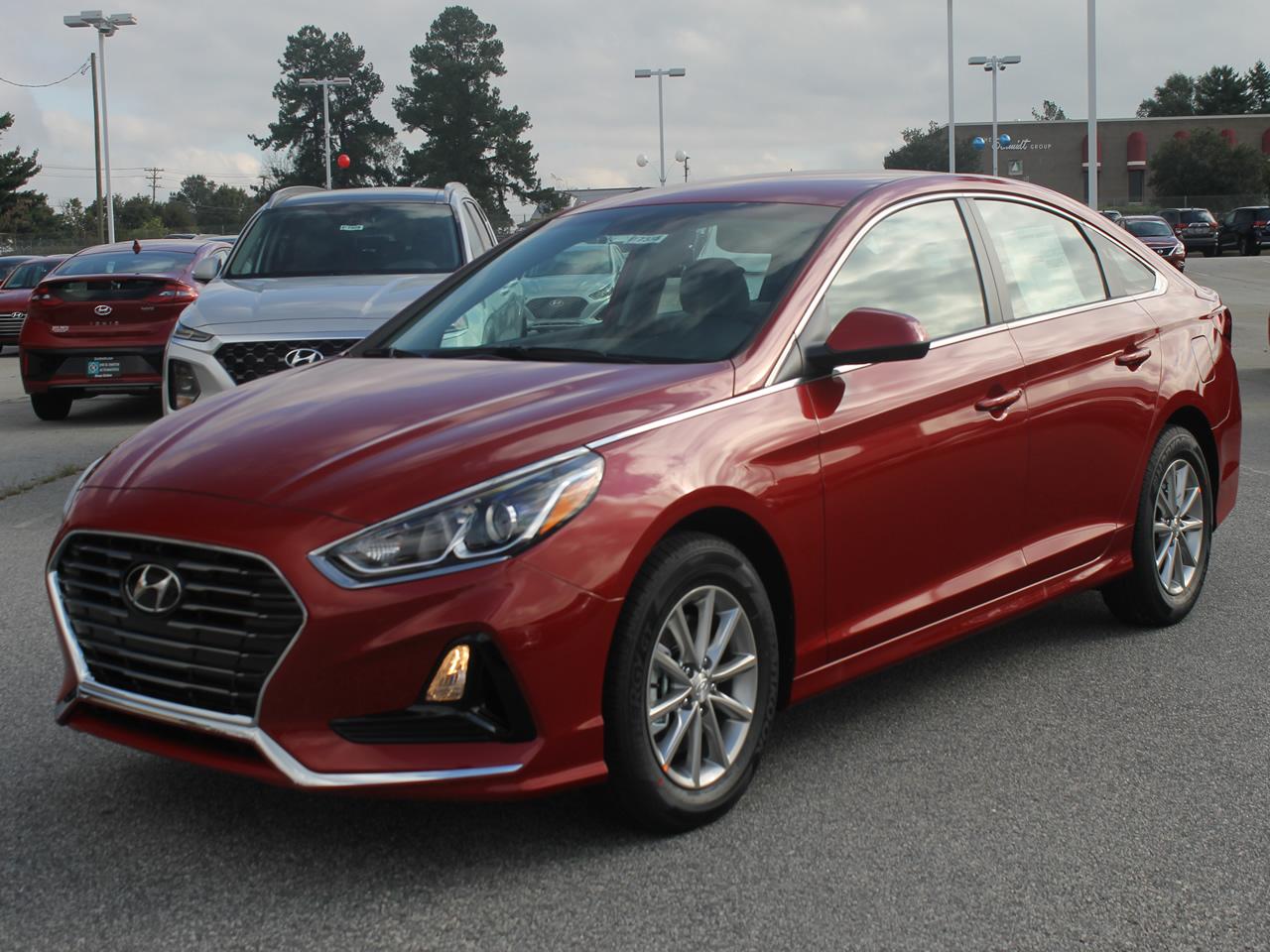 Dick Smith Hyundai >> NEW 2019 HYUNDAI SONATA SE VIN 5NPE24AF1KH744383 - Hyundai in Greenville | Hyundai Anderson ...