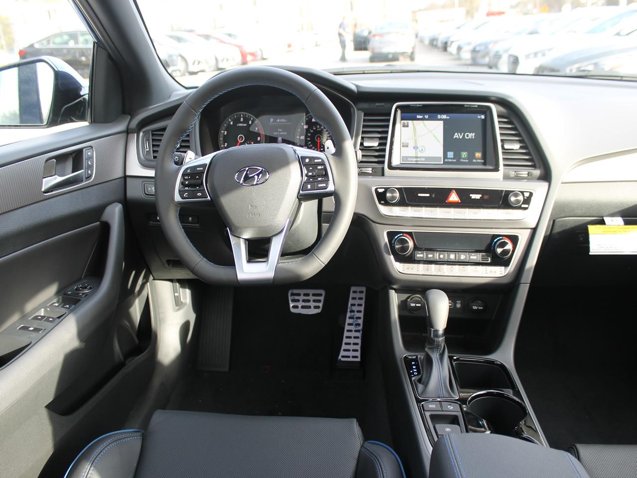 New 2019 Hyundai Sonata Limited 2 0t Vin 5npe34ab6kh773212